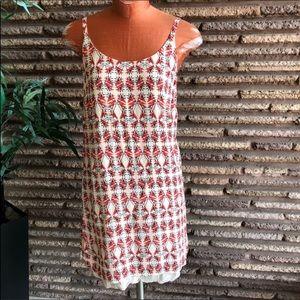 CAbi Batik Print Slip Dress Style #870
